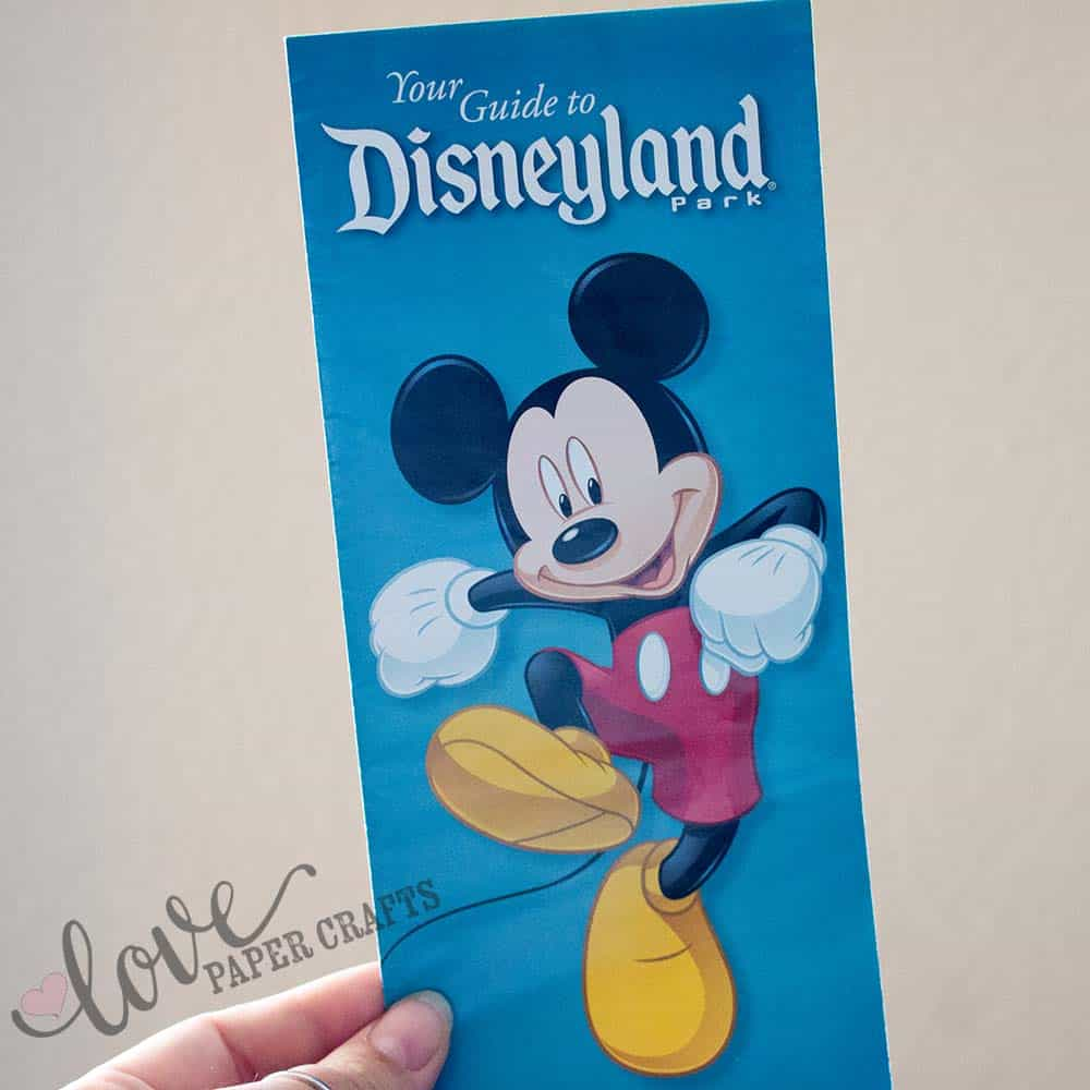 Best Souvenirs at Disneyland Park Maps | LovePaperCrafts.com