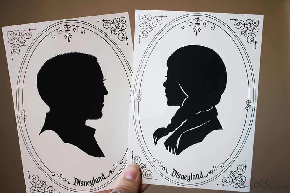 Best Souvenirs at Disneyland Silhouettes | LovePaperCrafts.com