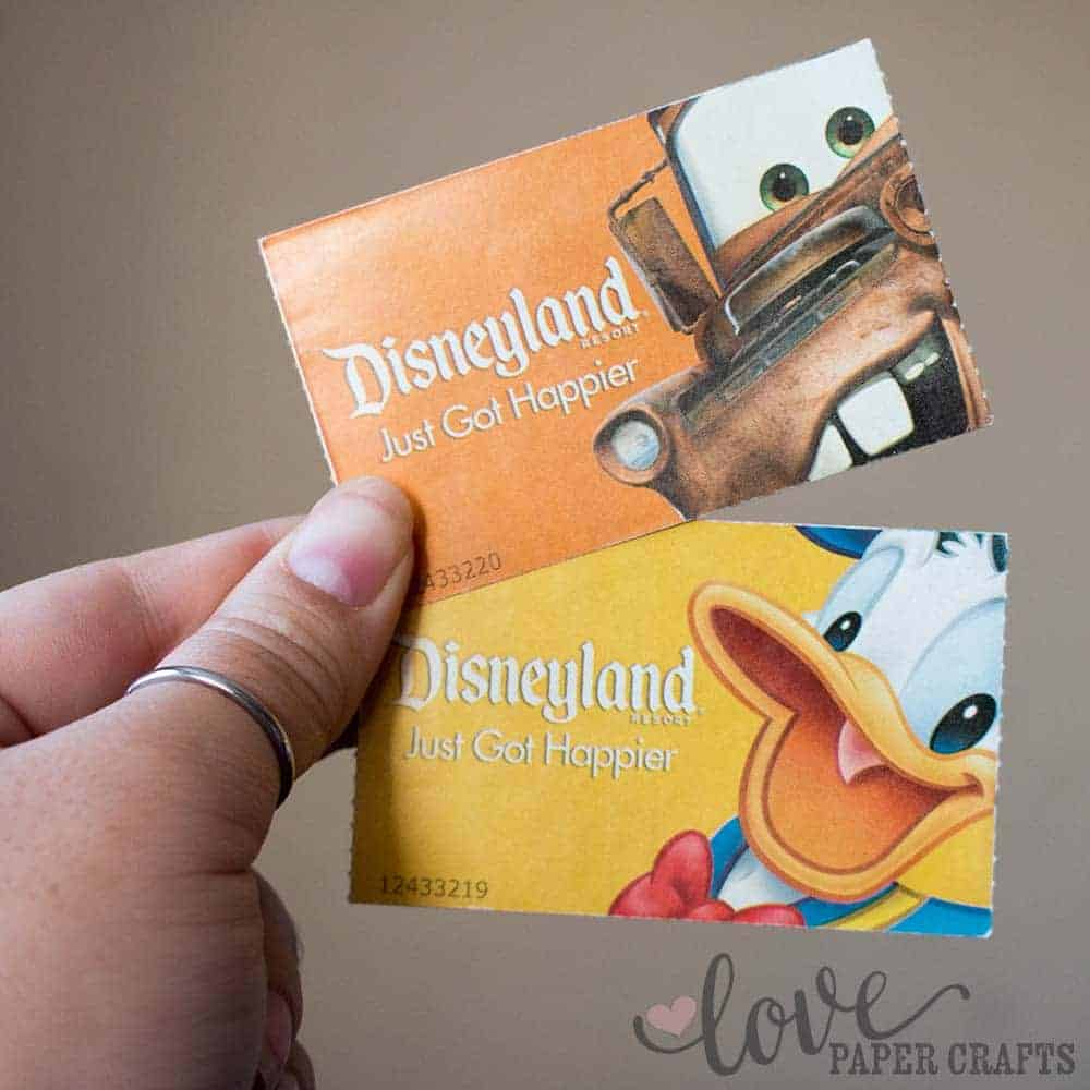 Best Souvenirs at Disneyland Tickets and Fast Passes | LovePaperCrafts.com