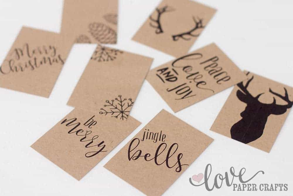 Free Printable Christmas Tags | LovePaperCrafts.com
