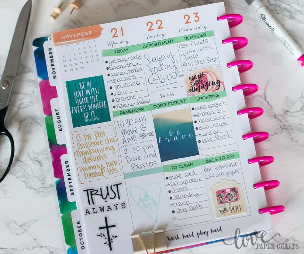 Free Printable Happy Planner Stickers | LovePaperCrafts.com