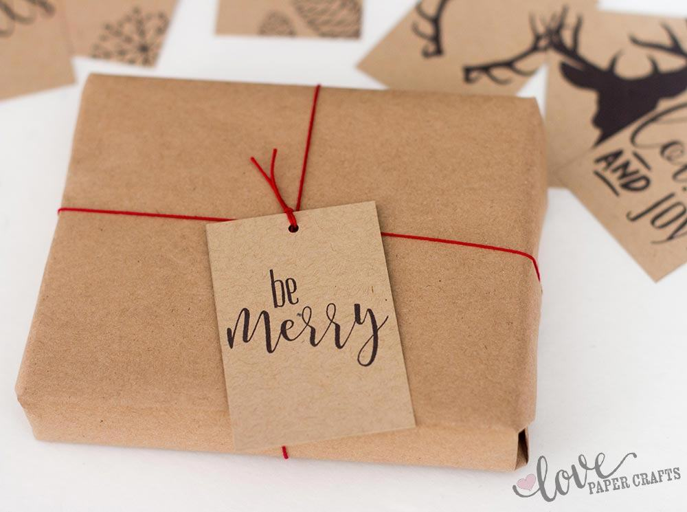 Printable Gift Tags for Christmas | LovePaperCrafts.com