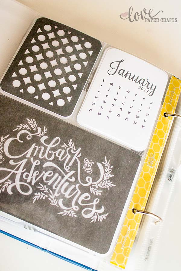 2017 Journaling Cards for Pocket #Scrapbooking and project life | LovePaperCrafts.com