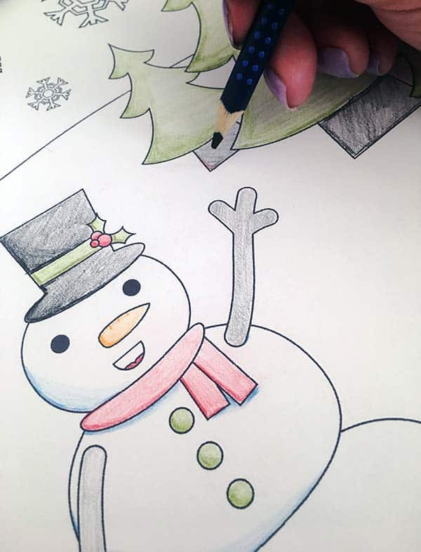Christmas Coloring Page | LovePaperCrafts.com