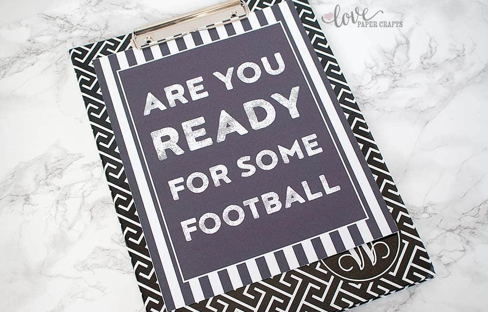 Are You Ready for Some Football Free Football Printable Art | LovePaperCrafts.com