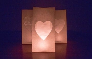 Easy Valentine's Day Decor | LovePaperCrafts.com