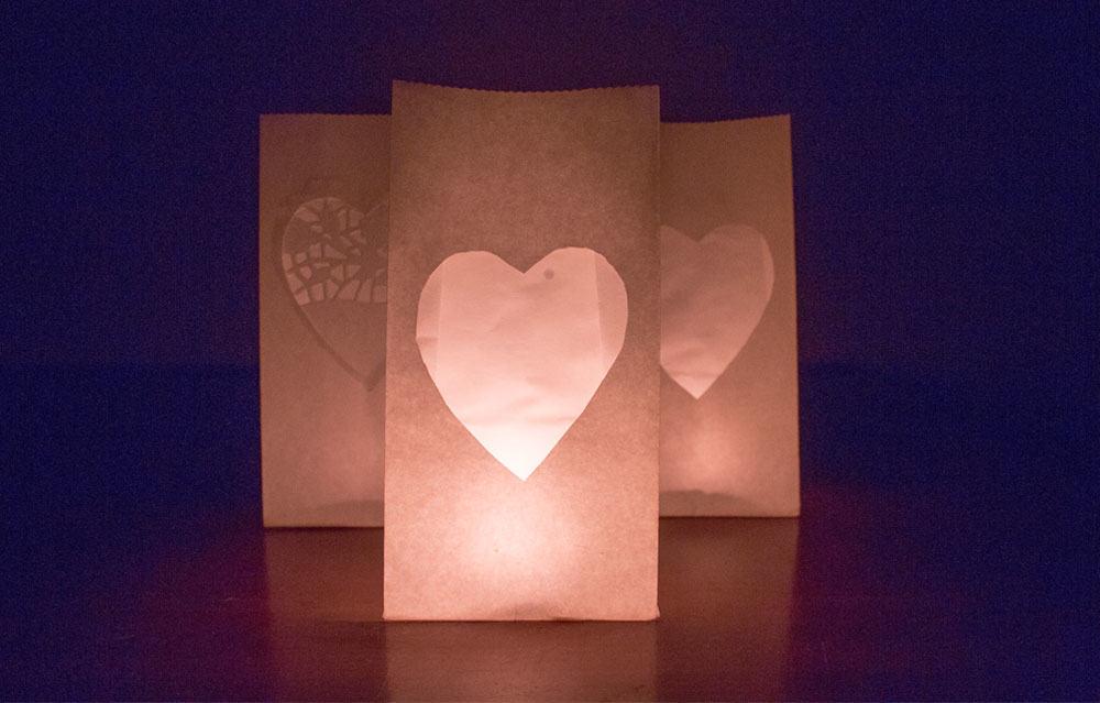 Easy Valentine's Day Decor | LovePaperCrafts.com