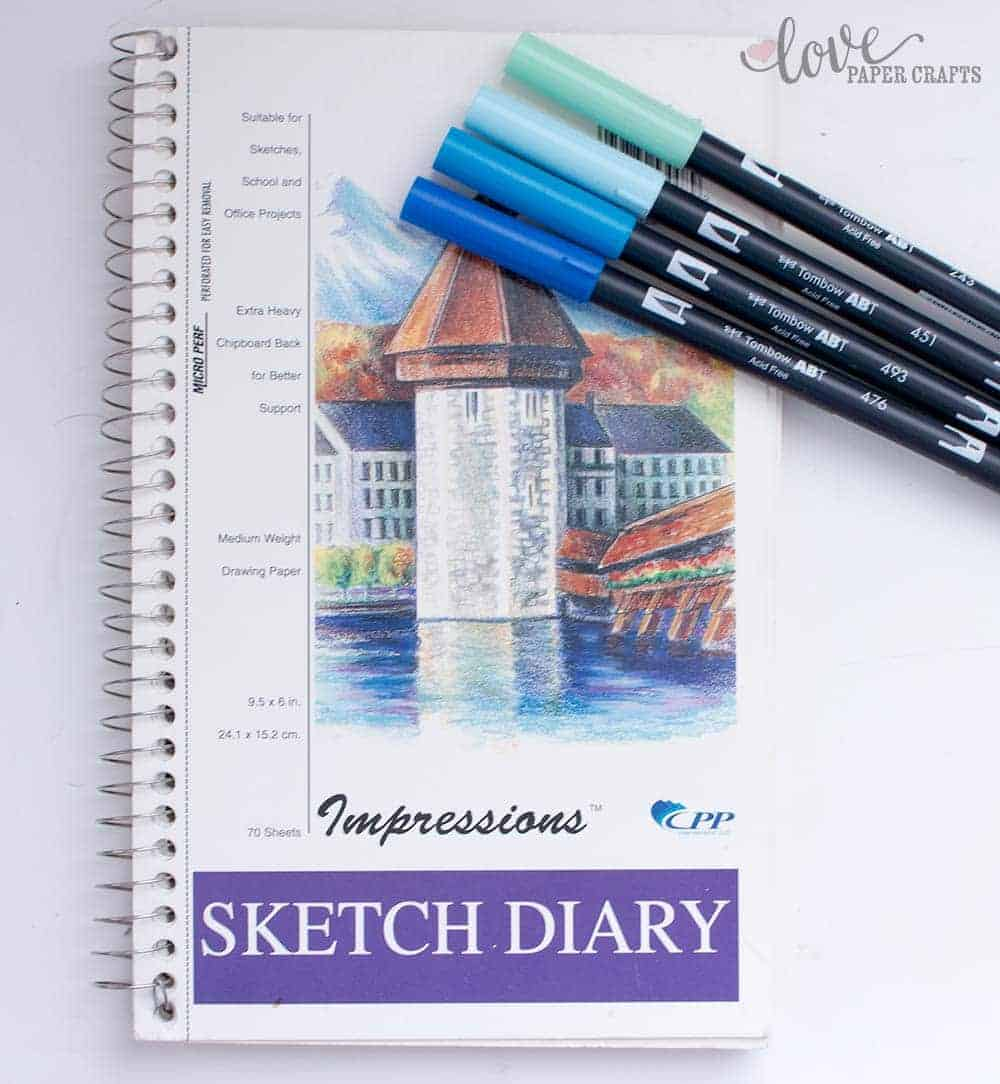 The Best Hand Lettering Tools - Sketch Book | LovePaperCrafts.com
