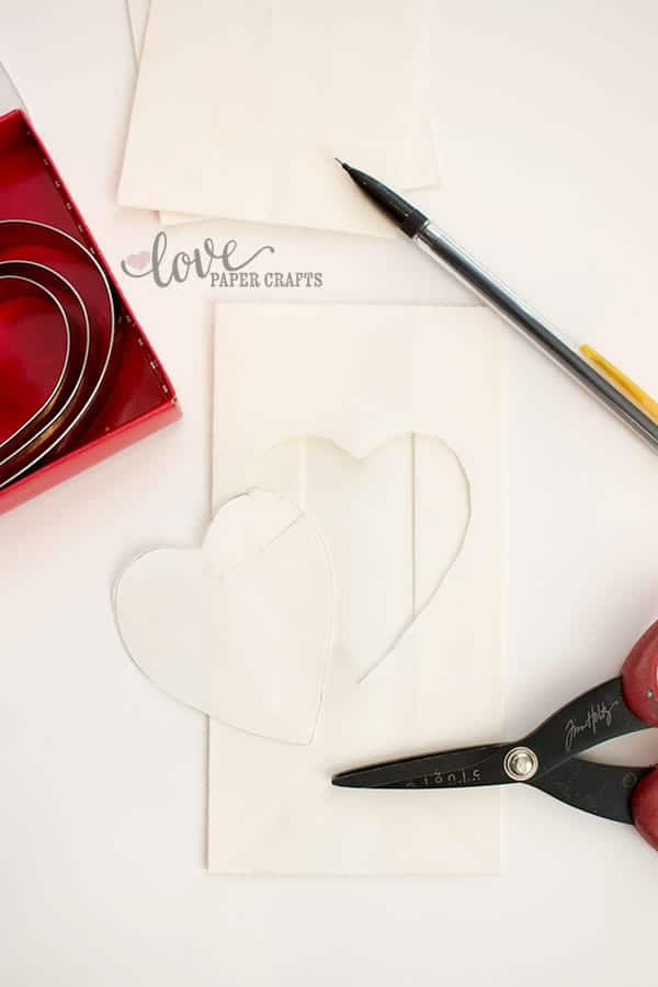Kids Valentine's Day Crafts Luminaries | LovePaperCrafts.com