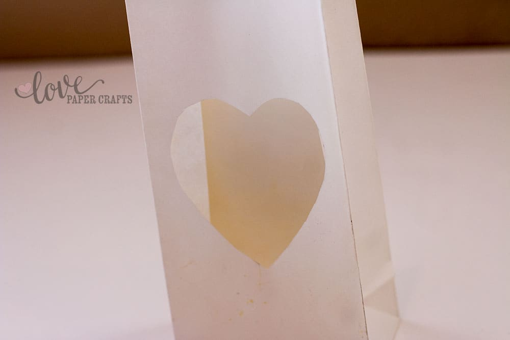 Valentine's Day Luminaries Tutorial | LovePaperCrafts.com