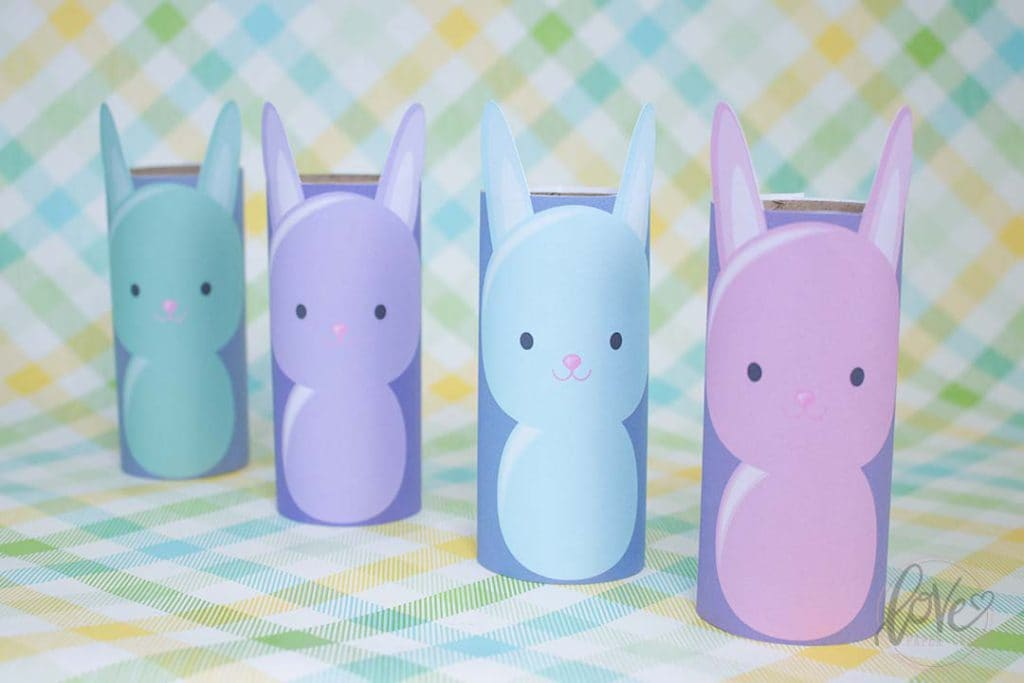 Toilet Paper Bunny DIY