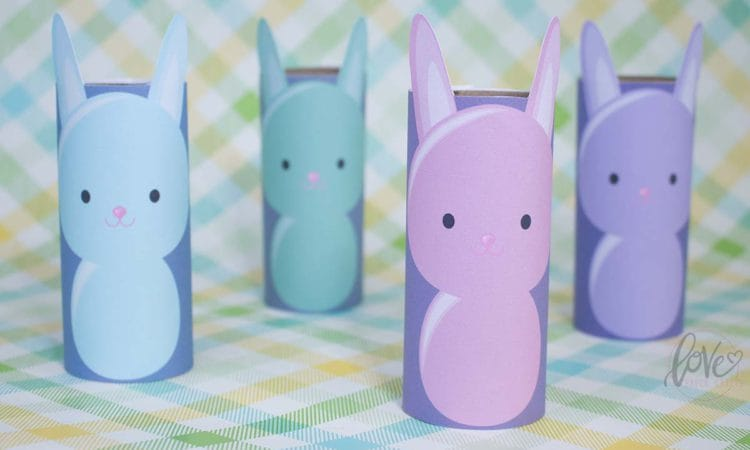 Toilet Paper Roll Bunny Printable
