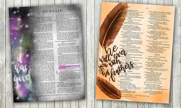 Digital Bible Journaling Examples and Inspiration