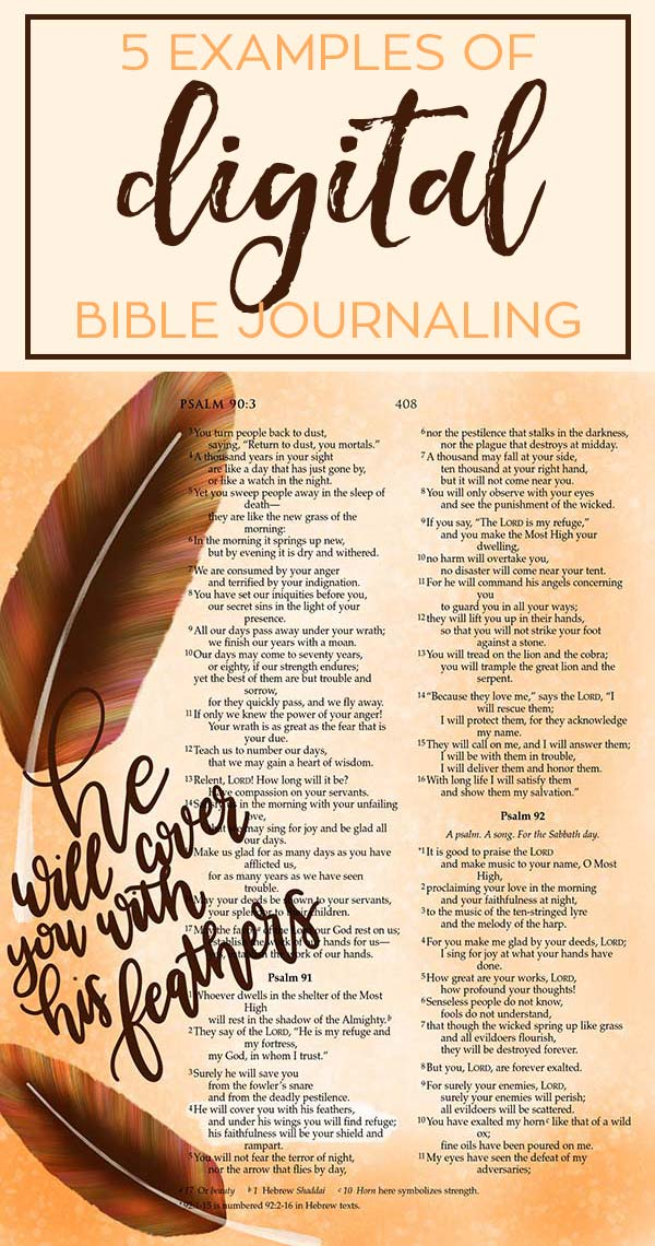 How to Do Bible Journaling Digitally