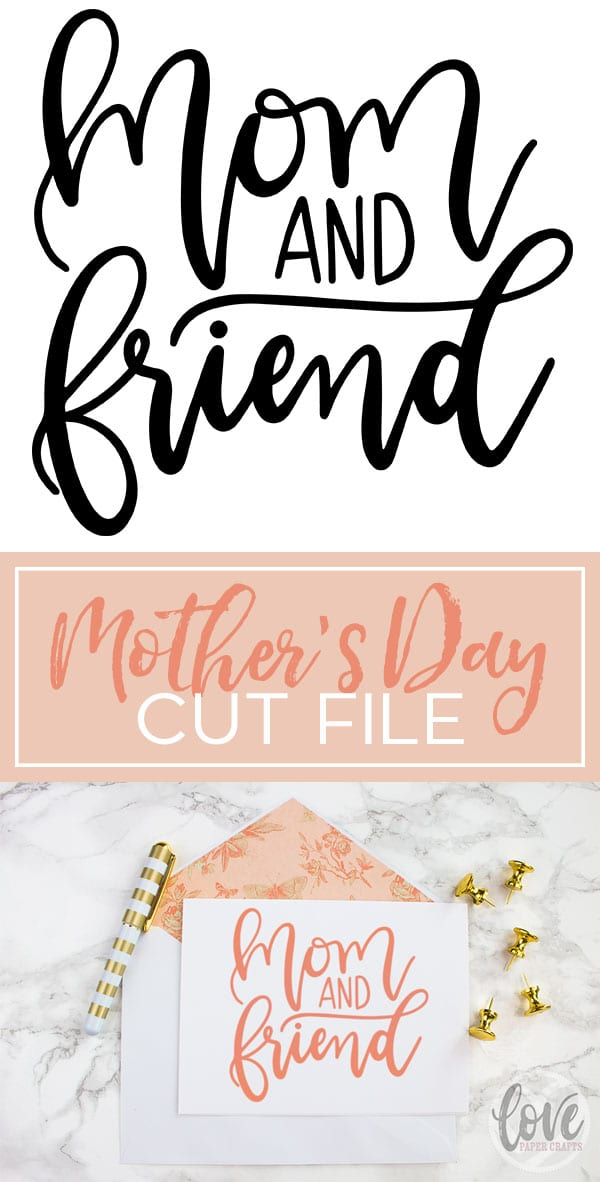 Mothers Day Free SVG Cut File