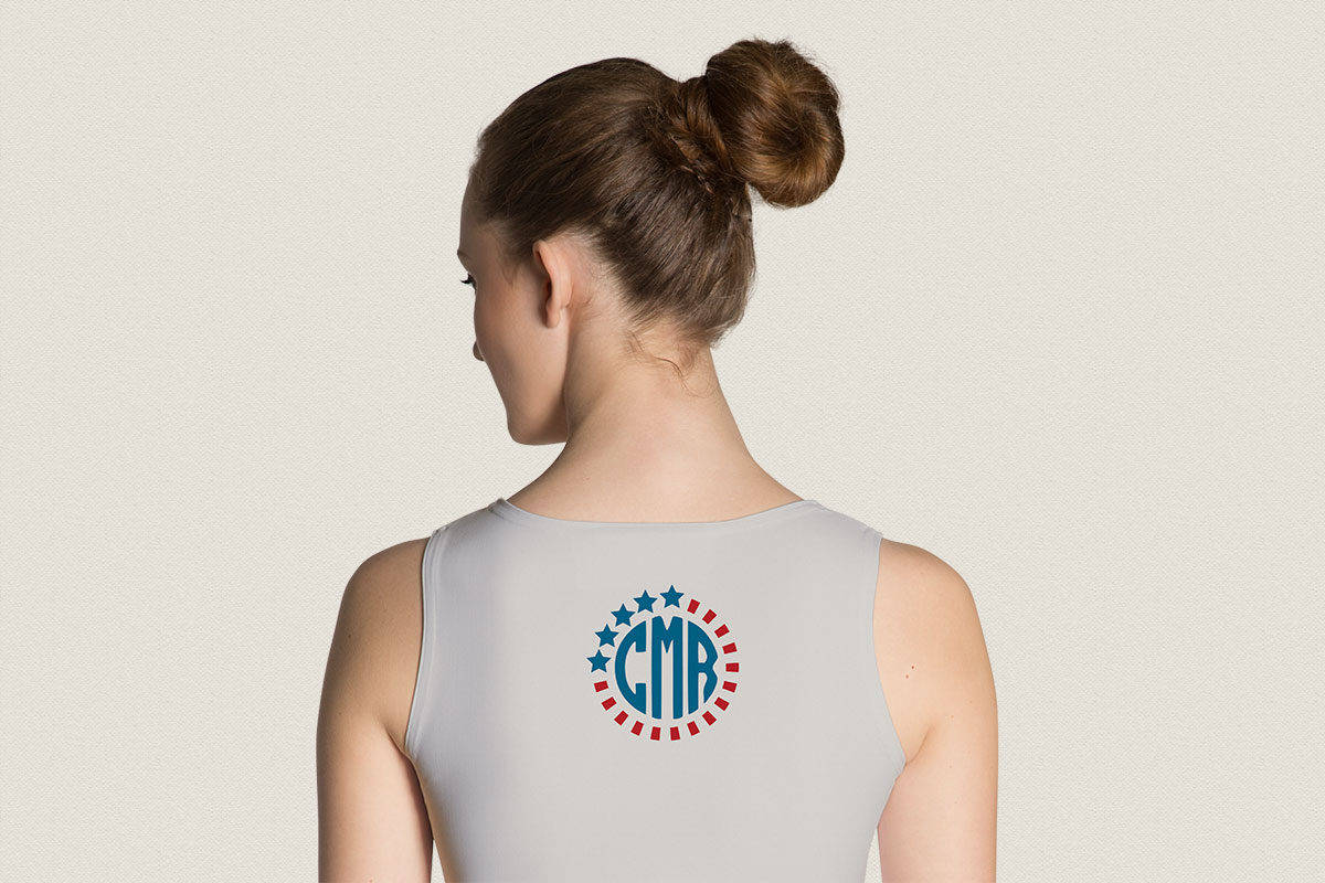 4th of July Patriotic Monogram Cut File