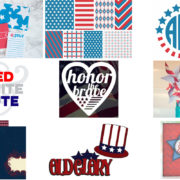 Free 4th of July Patriotic Printables and SVG Cut Files