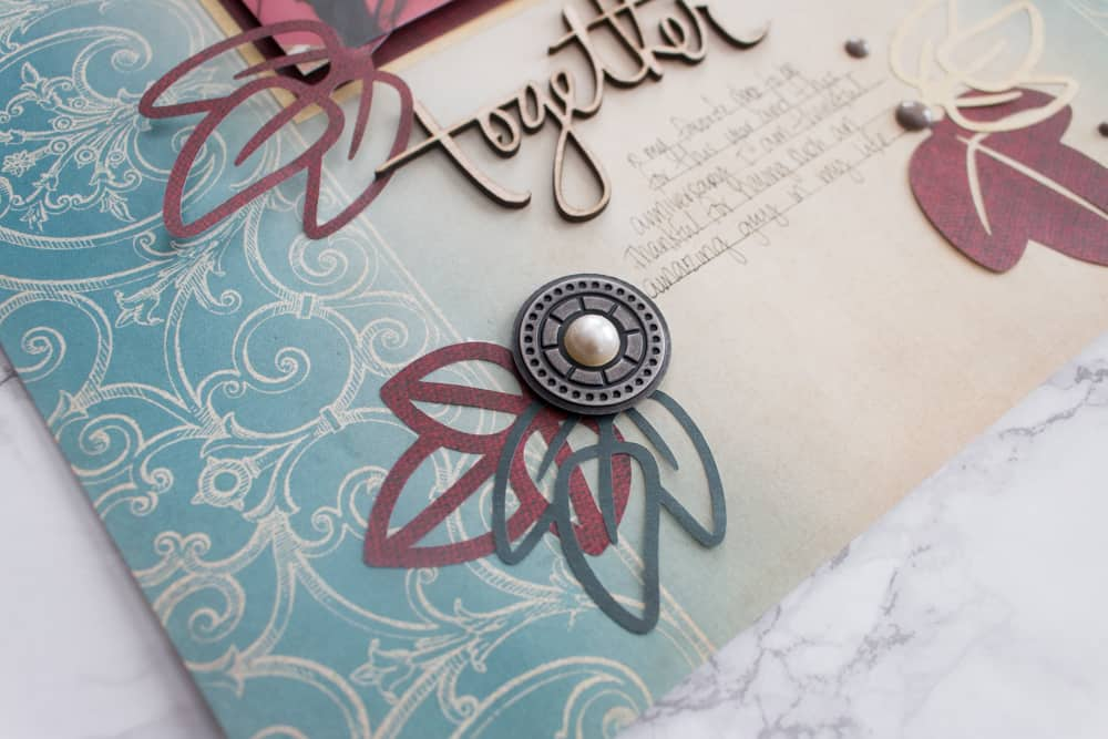 Fall Scrapbooking Layout Details
