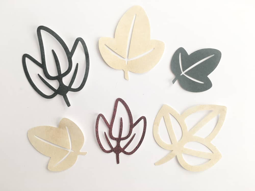 Free Leaves SVG DXF EPS Cut File Silhouette and Cricut