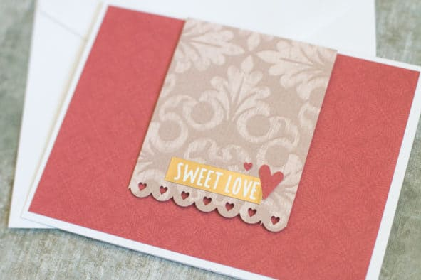 Easy DIY Handmade Anniversary Card