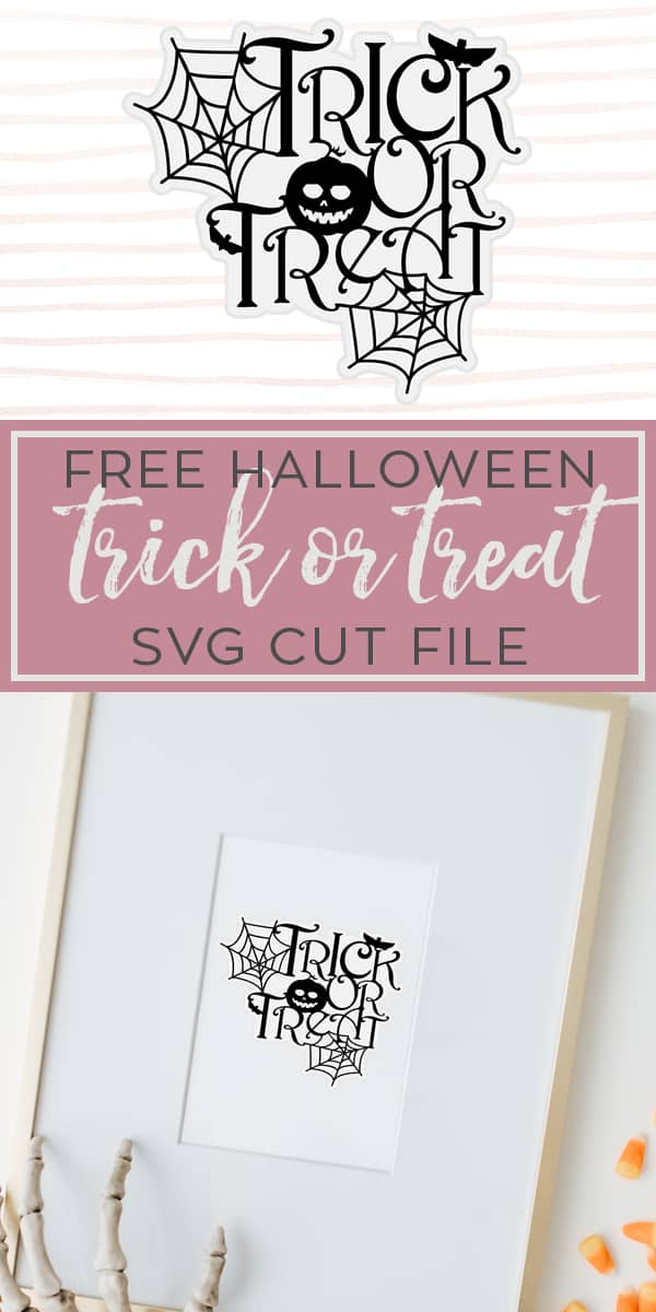 Free trick or treat halloween svg cut file