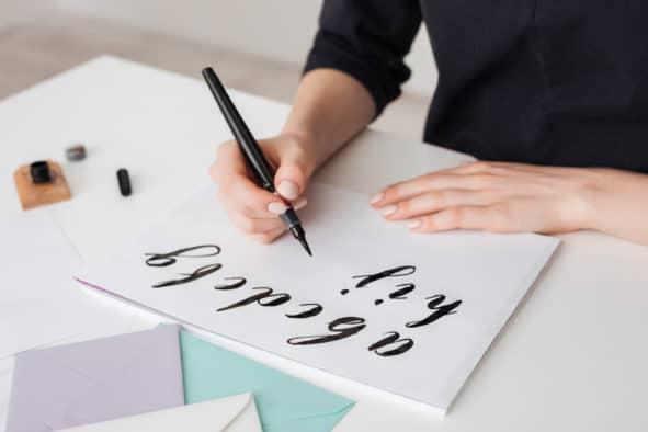 Learning Brush Calligraphy
